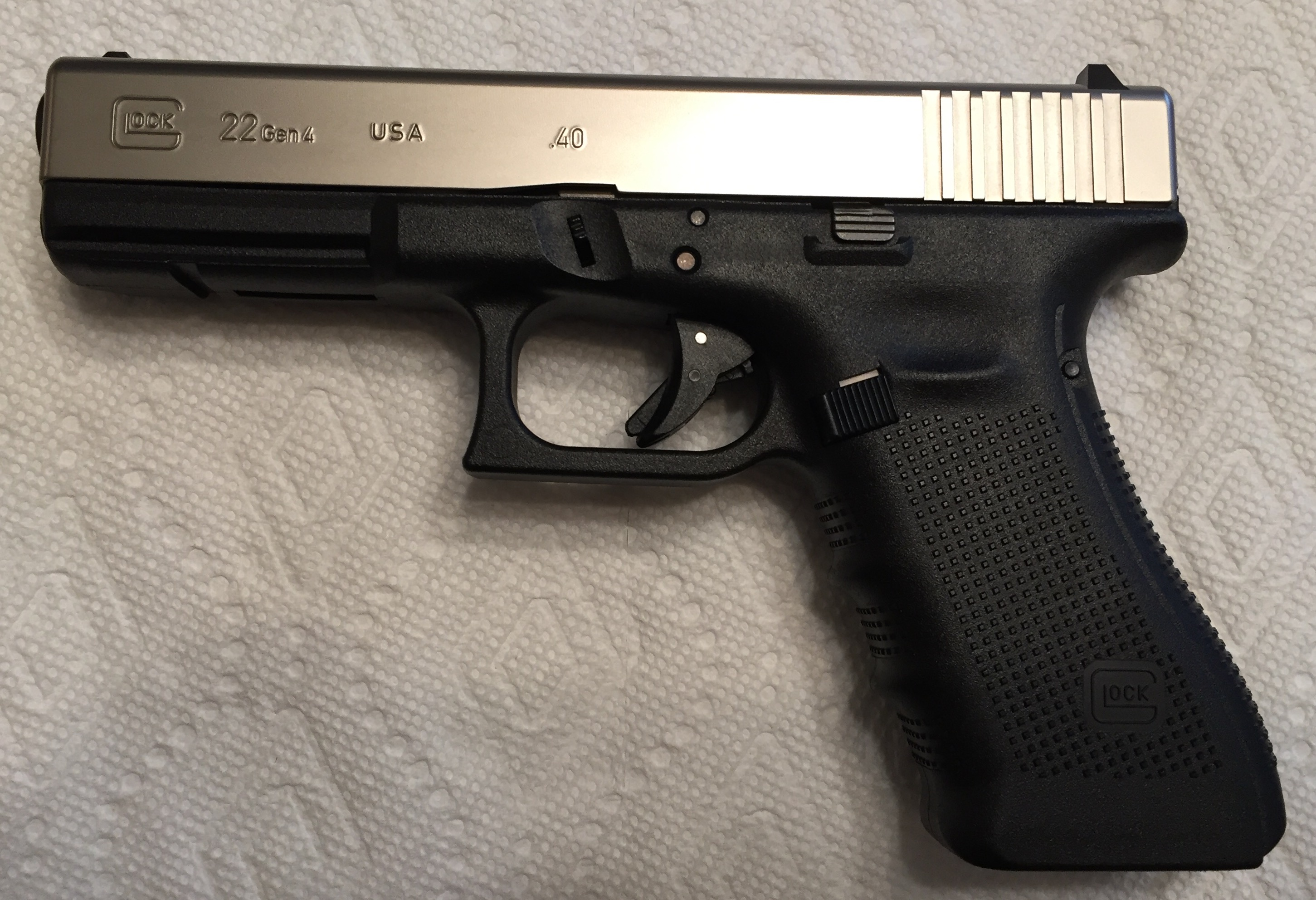 Glock 22 Gen 4 Cera-Plated, Like New in Box | Mississippi ...